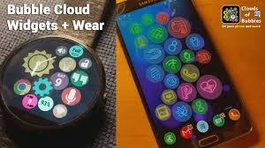 v5 16 bubble cloud home screen widgets mini launcher for