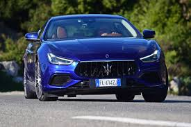 blue maserati ghibli new maserati ghibli 2017 facelift review pictures maserati