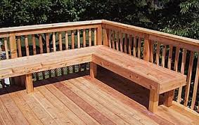 Free Wooden Deck Chair Plans by How To Build A Deck Bench Plans Diy Free Download Projects For