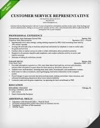 sample customer service resume examples of customer service