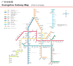 Subway Station Map by Http Www Travelchinaguide Com Images Map Guangdong Guangzhou