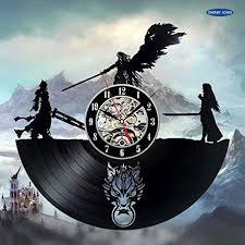 final fantasy 7 adventure anime ps pc games vinyl record wall