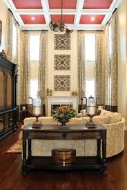 long curtains with rods and panels tall window treatments with