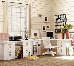 adorable classic white corner computer desk with wooden swivel