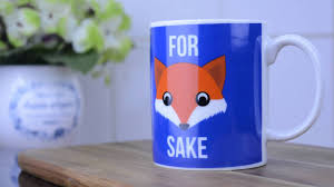 Fox Mug by For Fox Sake Mug Paladone Youtube
