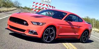 california style mustang driven 2016 ford mustang gt california special
