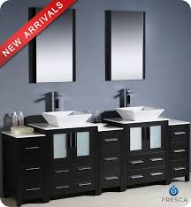 Black Bathroom Cabinet 84