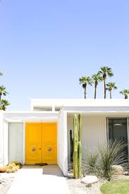 front door modern a palm springs door tour salty canary