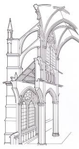 g rib vaulting flying buttresses pointed arches rosses