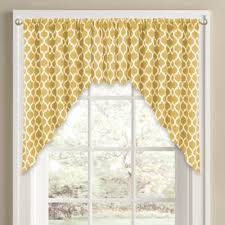 Yellow Valance Curtains Buy Yellow Valances For Windows From Bed Bath U0026 Beyond