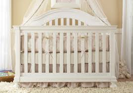 Europa Baby Palisades Convertible Crib Creations Summer S Evening Convertible Crib In Rubbed White
