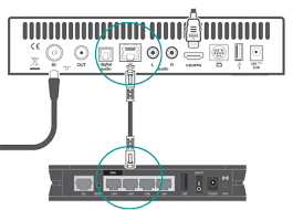 connect to ee tv using an ethernet cable