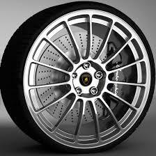 lamborghini gallardo wheels wheel lamborghini gallardo 3d model