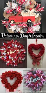 valentines day wreaths valentines day wreath ideas for front doors gathered in the kitchen