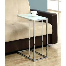 Small Metal Accent Table Glass Table With Sculptural X Chrome Base 6000 Est Retail Chrome