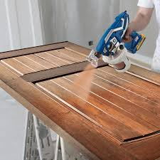 can you use a paint sprayer to paint kitchen cabinets how to paint trim doors using a sprayer