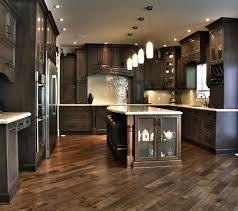 dark cabinet kitchens kitchen kitchen design ideas dark cabinets wood backsplash cherry