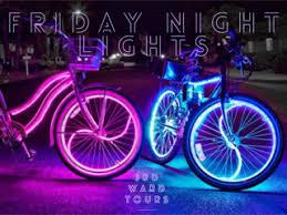 Light Bicycle For The U002799 U0026 The 2000 U0027s Night Light Bike Ride Powered By