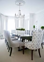 Grey Dining Room Chair Best Gray Dining Tables Ideas On - Damask dining room chairs