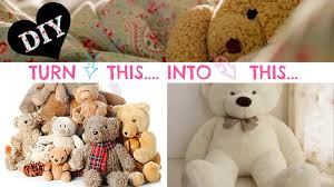 diy no sew stuffed animal solution super easy youtube