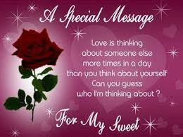 sweet happy birthday text sms in for