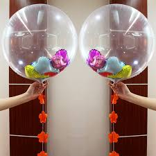 foil balloons 24 inch 36 inch clear foil balloons transparent aluminum balloon