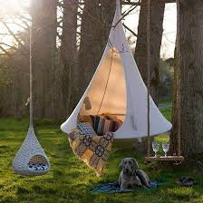 hanging hammock chairs adding camping fun to modern interiors and