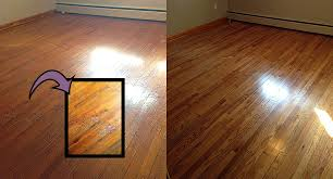 Refinished Hardwood Floors Before And After Before And After Pictures Of Refinished Wood Floors Peel And Stick