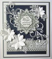 wilson craft dies festive collection holly swirl ced3106