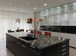 contemporary kitchen island ideas including large kitchen cabinets