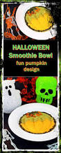 smoothie bowl fun pumpkin design fab food 4 all