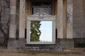 outstanding c19th english country house architectural mirror in