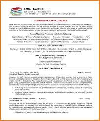 teaching resume templates 9 free resume templates free invoice letter