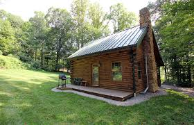 log house tranquil acres cabins amish country ohio