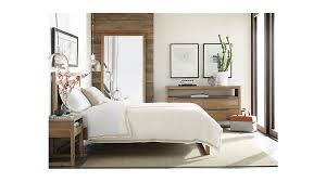 Crate Bed Frame Linea Ii King Bed Crate And Barrel