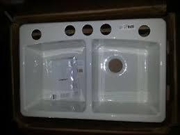 Undermount Cast Iron Kitchen Sink by Kohler 5846 5u 0 Brookfield Undermount Cast Iron Double Bowl