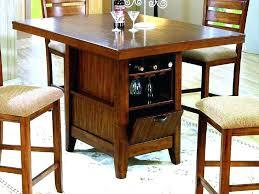 bar high dining table narrow bar height table white bar and orange chairs narrow bar