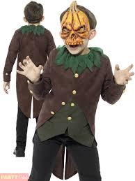 Pumpkin Halloween Costume Boys Goosebumps Jack O Lantern Costume Childs Pumpkin Halloween