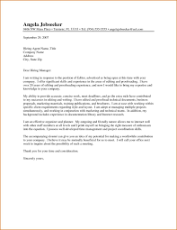 Cna Cover Letter Example by Curriculum Vitae Example Of Cover Letter To Journal Editor