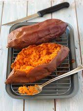 How To Cook A Sweet Potato In The Toaster Oven Vegan Twice Baked Sweet Potatoes With Pineapple And Coconut
