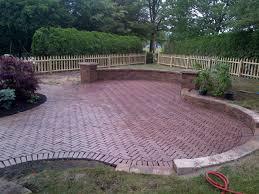 cost for paver patio outdoor u0026 garden design decorative natty unilock pavers for