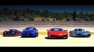 porsche lamborghini drag race bugatti veyron ss vs porsche 918 vs lamborghini