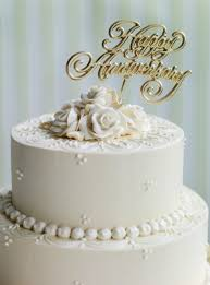 golden wedding cakes planning a memorable 50th wedding anniversary party