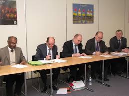 chambre des notaires normandie signature de la convention de partenariat cci caen normandie drac
