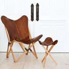 leather sling chair handcrafted butterfly chairs u2013 the citizenry