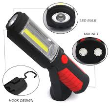 rechargeable magnetic work light new portable cob led flashlight magnetic work light rechargeable 360