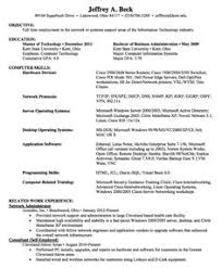 Administrative Sample Resume by Good Resume Examples Good Sample 1 Larger Image Things To