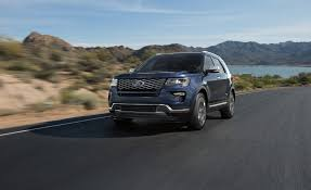 land rover ford 2018 ford explorer in depth model review car and driver