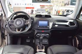 gray jeep renegade interior jeep renegade desert hawk interior dashboard at 2016 bologna motor