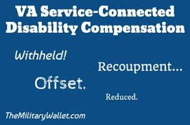 withhold va disability compensation recoupment u0026 offset